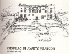 Illustrazione Castello di Monte Frascone